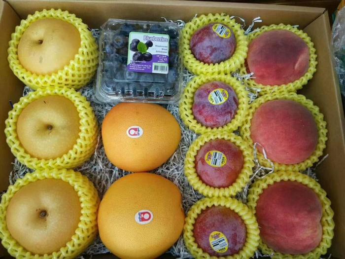 高档进口水果礼盒